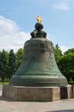 De klok van de Tsaar in Moskou het Kremlin stock afbeelding
