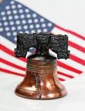 De Klok van de vrijheid stock afbeelding
