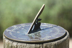De klok van de zon Stock Afbeelding