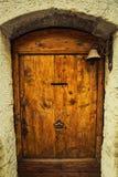 De klok van de deurring stock afbeeldingen