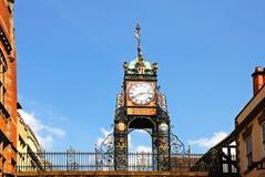 De Klok van Eastgate, Chester stock fotografie
