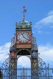 De Klok van Eastgate, Chester stock afbeeldingen