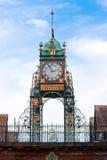 De klok van Eastgate, Chester, het UK Royalty-vrije Stock Foto's