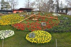 De klok van Genève Royalty-vrije Stock Afbeeldingen