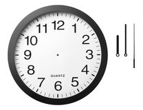 De klok van het bureau.