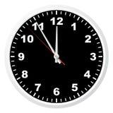 De klok van het bureau. Stock Foto's
