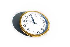 De klok van het bureau Stock Fotografie