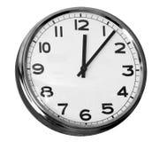 De klok van het bureau Stock Foto's