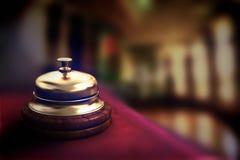 De Klok van het hotel Royalty-vrije Stock Fotografie
