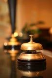 De klok van het hotel Royalty-vrije Stock Afbeeldingen
