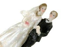 De Klok van het huwelijk stock foto