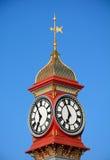 De Klok van het jubileum, Weymouth Stock Foto's