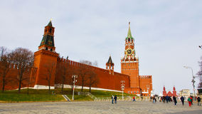 De klok van het Kremlin Royalty-vrije Stock Afbeeldingen