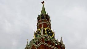 De klok van het Kremlin Royalty-vrije Stock Foto
