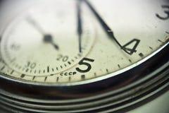 De klok van het polshorloge Stock Fotografie