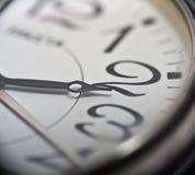 De klok van het polshorloge Stock Foto
