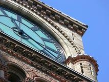 De Klok van het stadhuis Stock Foto's