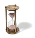 De klok van het zand Royalty-vrije Stock Afbeeldingen