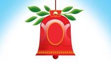 De klok van Kerstmis Royalty-vrije Stock Afbeelding