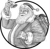 De klok van Kerstmis Royalty-vrije Stock Fotografie