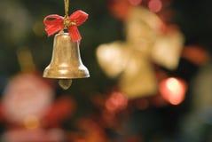 De klok van Kerstmis Royalty-vrije Stock Afbeeldingen