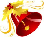 De klok van Kerstmis! Stock Foto's