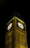 De klok van Londen - van de Big Ben Royalty-vrije Stock Foto