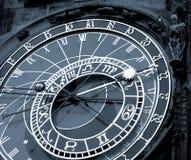 De klok van Orloy - symbool van Praag. Royalty-vrije Stock Foto