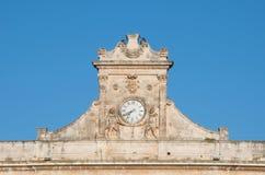 De klok van Ostuni Royalty-vrije Stock Foto's