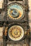 De Klok van Praag Stock Fotografie