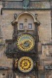 De klok van Praag Stock Afbeeldingen