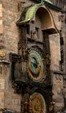 De klok van Praag Stock Foto