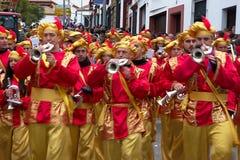De kloka männen ståtar i Carmona 53 Royaltyfria Bilder