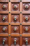 De Klokken van de deur Stock Foto