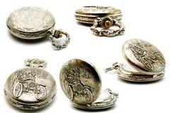 De klokken van de inzameling royalty-vrije stock fotografie