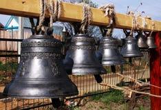 De klokken van de kerk Stock Fotografie