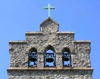 De Klokken van de kerk Stock Foto's