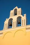 De klokken van de kerk Stock Foto
