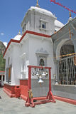 De klokken van de tempel, gangotri India Royalty-vrije Stock Foto's