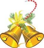 De klokken van Kerstmis stock illustratie