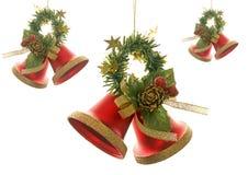 De Klokken van Kerstmis Royalty-vrije Stock Foto's