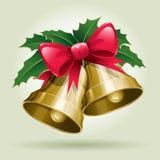 De Klokken van Kerstmis. Stock Foto's