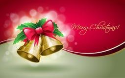 De Klokken van Kerstmis. Royalty-vrije Stock Afbeelding