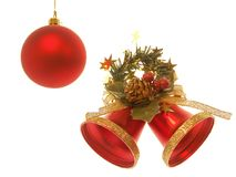 De Klokken van Kerstmis Stock Foto