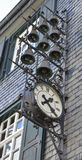 De klokken van Monschauduitsland Stock Afbeelding
