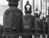 De klokkentempel is een Boeddhistische Tempel Stock Afbeeldingen