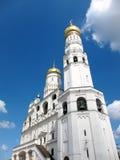 De klokketoren in het Kremlin Stock Foto's