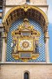 De klokketoren (Reis DE l'Horloge), La Conciergerie, Parijs Royalty-vrije Stock Fotografie