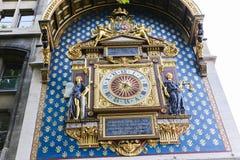 De klokketoren (Reis DE l'Horloge) - Parijs Stock Afbeeldingen