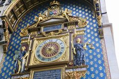 De klokketoren (Reis DE l'Horloge) - Parijs Royalty-vrije Stock Fotografie